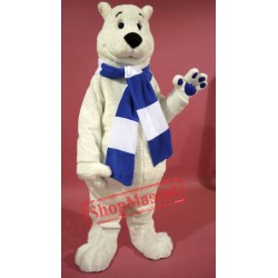 Breezy Polar Bear Mascot Costume Free Shipping