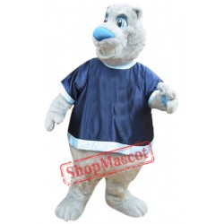 Friendly Bear Mascot Costume
