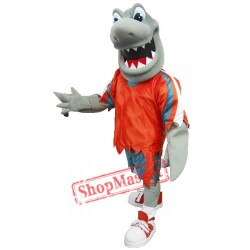 Fierce Shark Mascot Costume