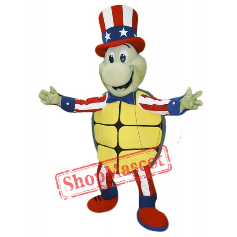 Happy Turtle Mascot Mascot Costume
