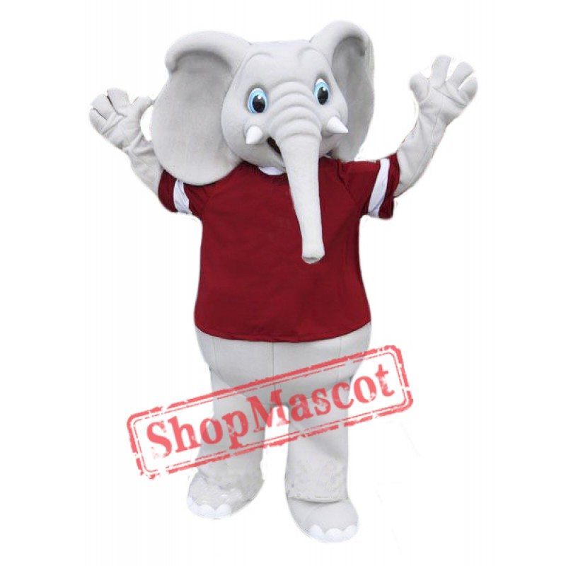 New Elephant Mascot Costume