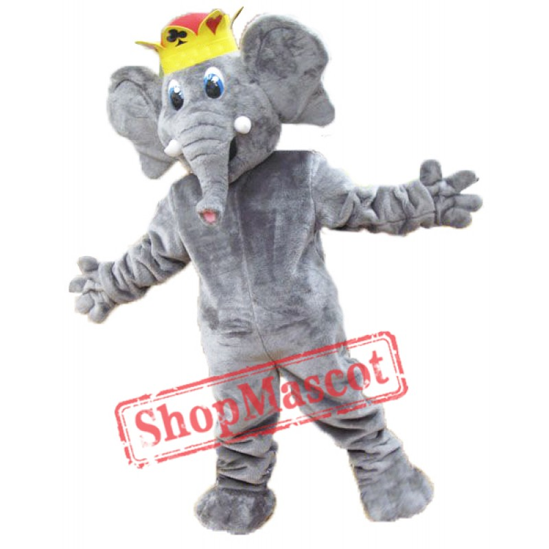High Quality Elephant Mascot Costume