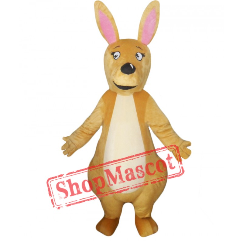 High Quality Kangaroo Mascot Costume Free Shipping
