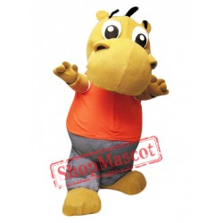 Little Cute Hippo Mascot Costume