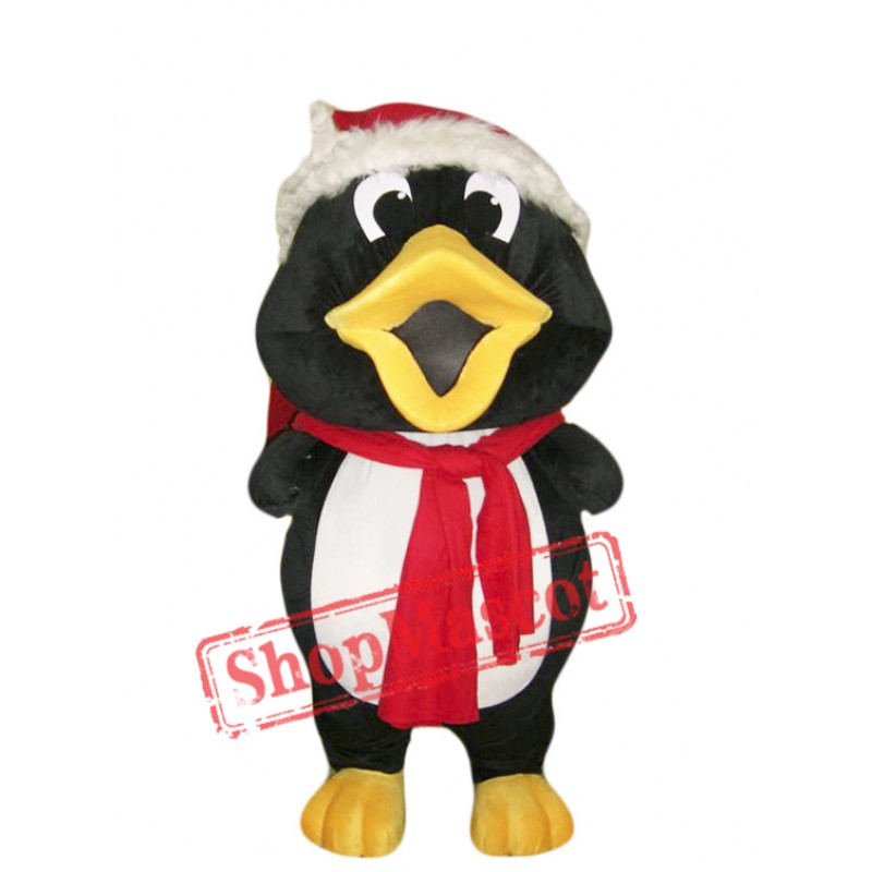 Christmas Penguin Mascot Costume