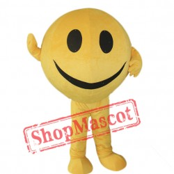Yellow Ball Mascot Costume Free Shipping