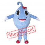 Blue Ball Mascot Costume