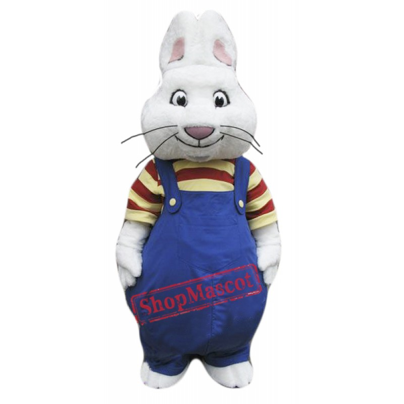 Max Rabbit Mascot Costume