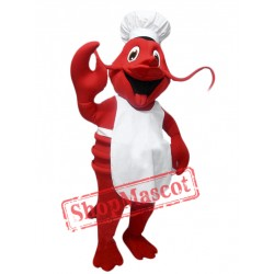 Chef Lobster Mascot Costume