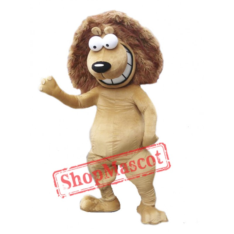 Happy Lion Mascot Costumes Free Shipping