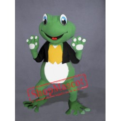 Cute Frog Mascot Costume Free Shipping