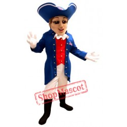 High Quality Patriot Mascot Costume