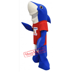 Splash Kingdom Shark Mascot Costume