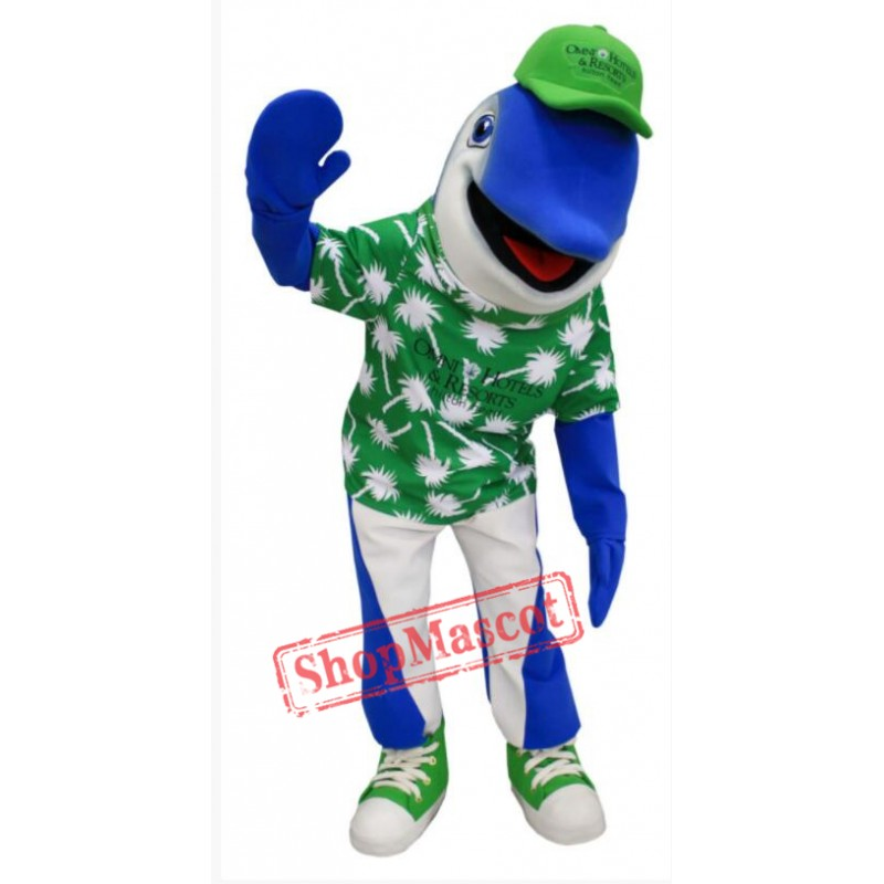 Cool Dolphin Mascot Costume
