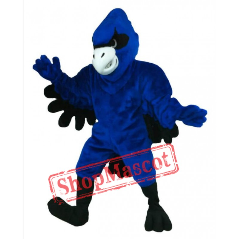Fierce Blue Jay Mascot Costumes