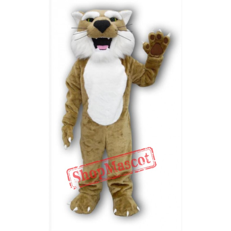 High Quality Bobcat Mascot Costume