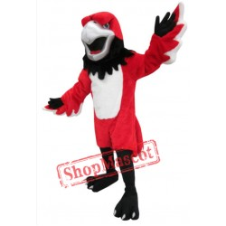 Red Fierce Bird Mascot Costume