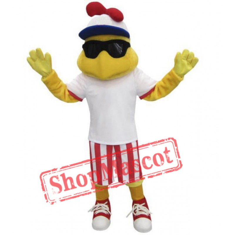 Fashion Chicken Mascot Costume