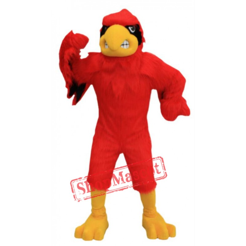 Red Fierce Cardinal Mascot Costume