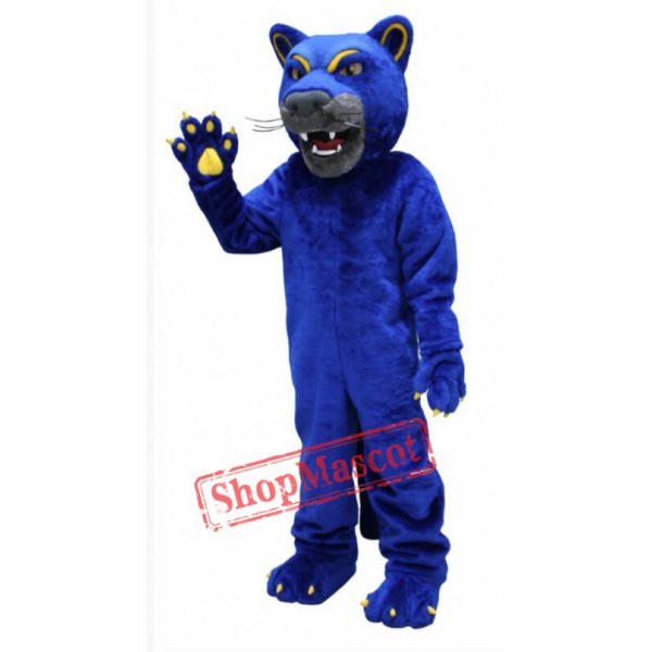 Blue Prowler Panther Mascot Costume
