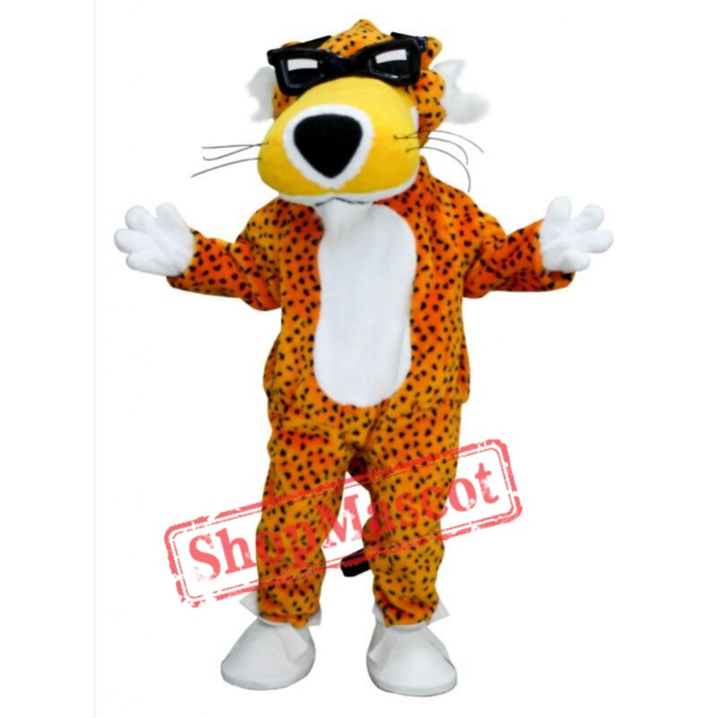 Chester Cheetah Mascot Costume