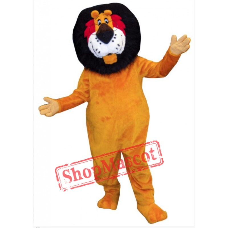 Hubert Lion Mascot Costume