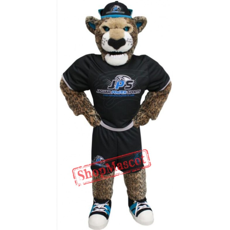 Power Sport Jaguar Mascot Costume