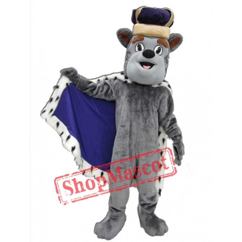 King Duke Dog Mascot Costume