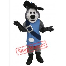Cute Husky Dog Mascot Costume