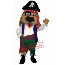 Pirate Dog Mascot Costume
