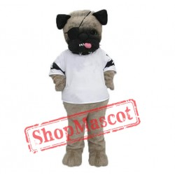 Ugly Pug Dog Mascot Costume