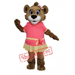 Cute Female Lion Mascot Costume