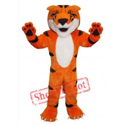 Fierce Tiger Mascot Costume