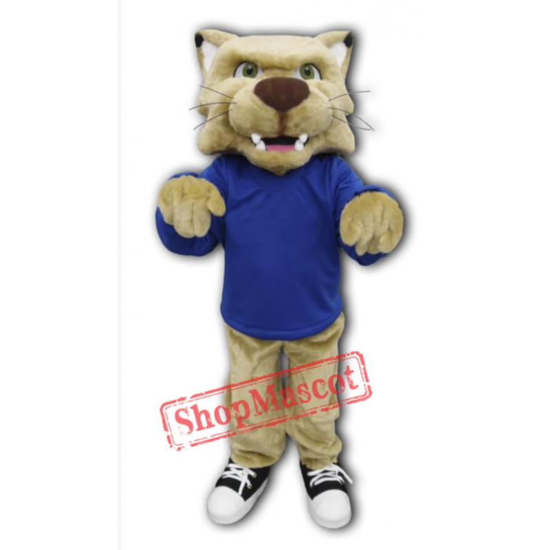College Bobcat Mascot Costume