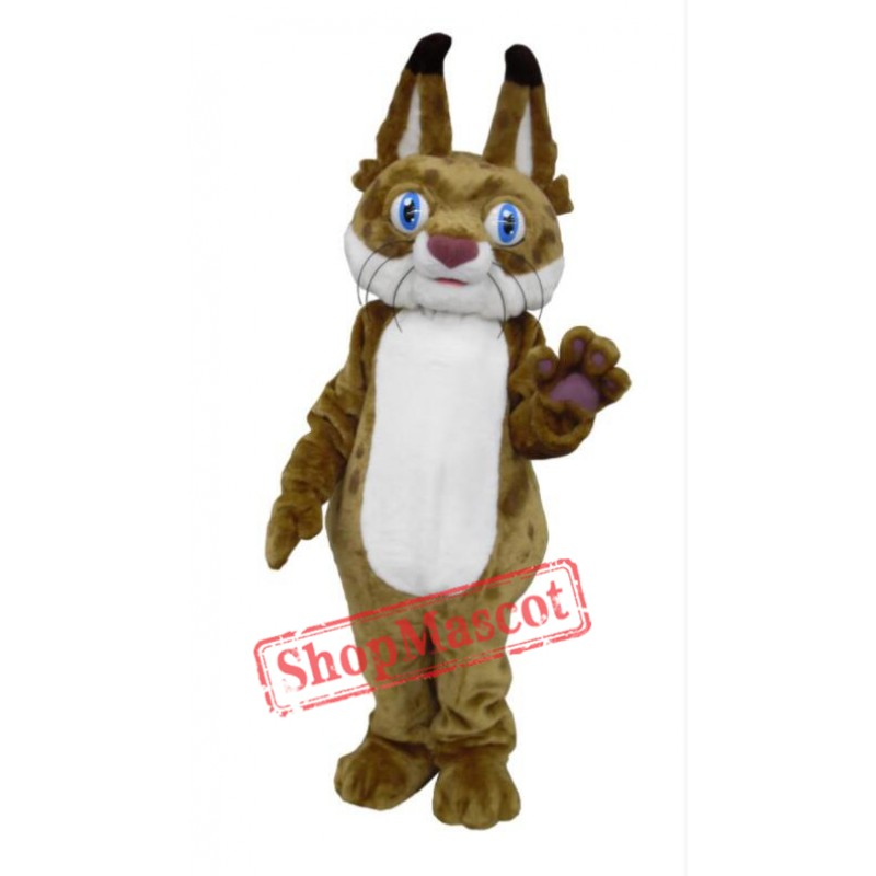 Bob the Bobcat Mascot Costume