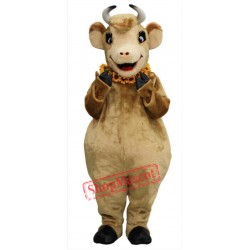 Cute Female Cow Mascot Costume