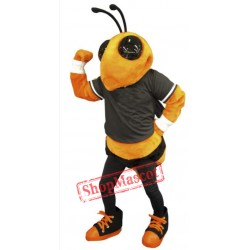 College Bee Mascot Costume