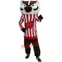 Bucky Badger Mascot Costume