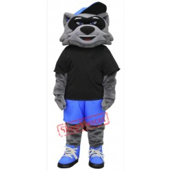 Cool Raccoon Mascot Costume