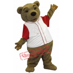 Lovely Brown Bear Mascot Costume