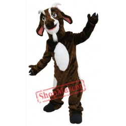 Brown Goat Mascot Costume