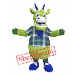 Green Goat Mascot Costume