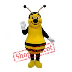 High Quality Happy Bee Mascot Costume