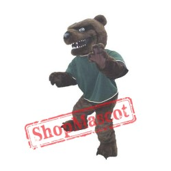 Fierce Brown Bear Mascot Costume