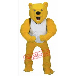 Power Fierce Bear Mascot Costume