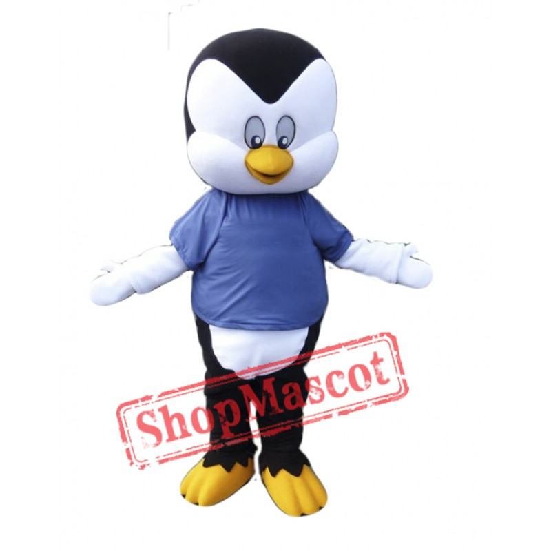 University Penguin Mascot Costume