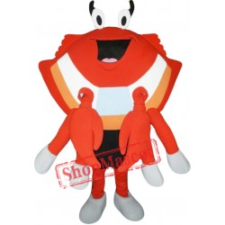 Cute Crab Mascot Costume