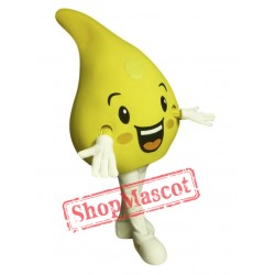 Cute Lemon Mascot Costume