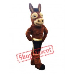 Power Mule Mascot Costume