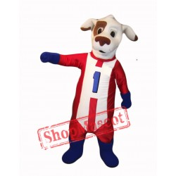 Dash Dog Mascot Costume